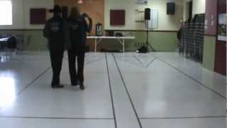 TUSH PUSH FOR 2 partner dance