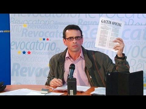 Venzuela: Assembleia Nacional rejeita estado de exceção de Maduro