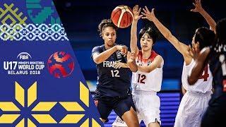 Japan v France - Full Game - FIBA U17 Women's Basketball World Cup 2018 thumbnail