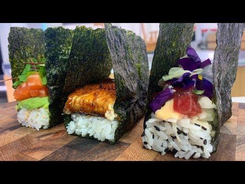 Pressed Sushi 3 Ways - Sushi Time!