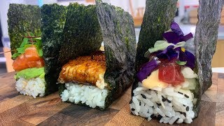 Pressed Sushi 3 Ways - Sushi Time!