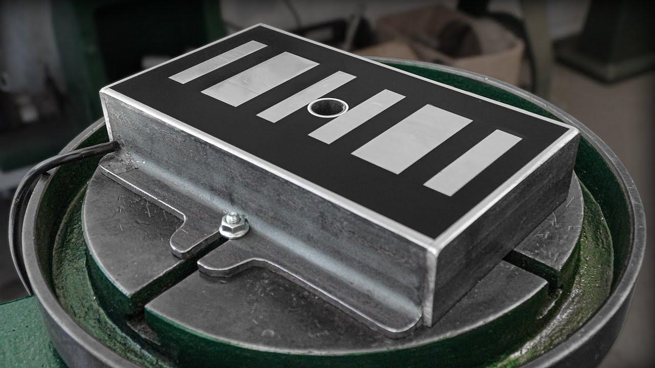 DIY Electromagnet   Vise For Excelsior Drill Press