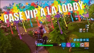 SENDING PEOPLE TO THE LOBBY IN FORTNITE Jorge Amor