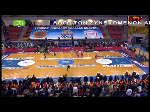 Olympiacos vs. Panathinaikos (Greek Cup Final # Last 2 min. # 10/02/13)