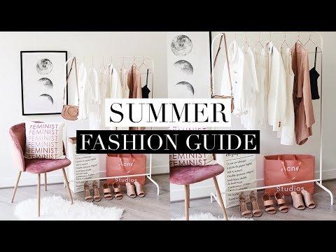 SUMMER FASHION GUIDE 2018 | Favorite Trends & Basics