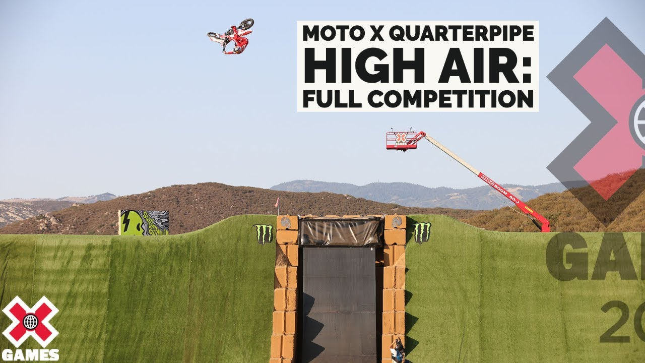 Download Monster Energy Moto X QuarterPipe High Air: FULL COMPETITION   X Games 2021