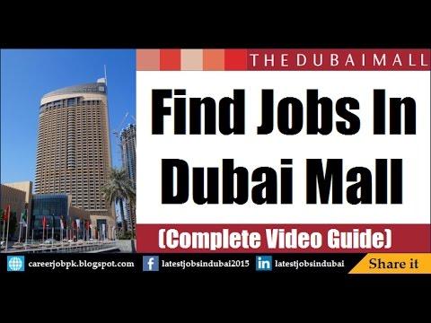 Dubai Mall Job Vacancies in Dubai 2017