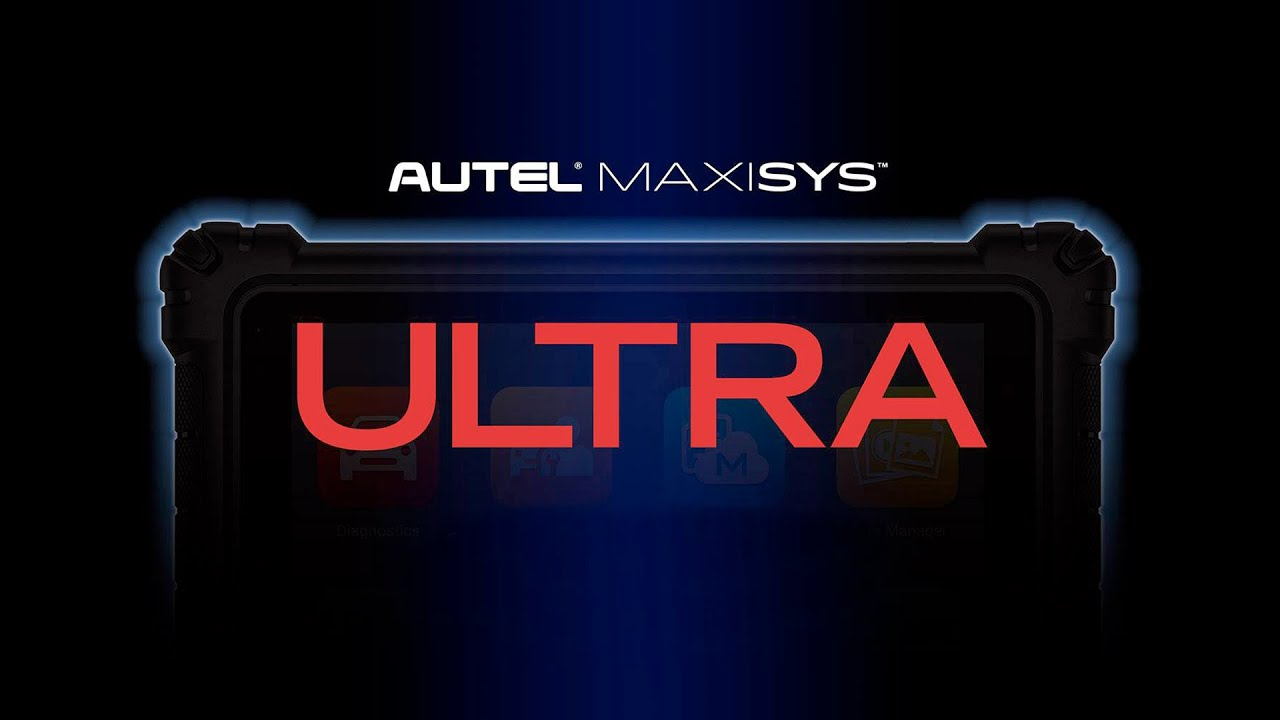 Autel MaxiSYS Ultra - Intelligent Diagnostics - YouTube