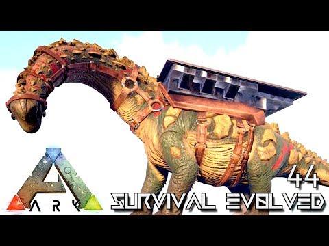 ARK: SURVIVAL EVOLVED - MEGA TITANOSAUR TAME & LIFE UPDATE !!! E44 (MODDED ARK EXTINCTION CORE)