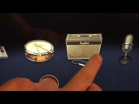 Importing Audio Track Into GarageBand on iPad - iOS version 10.2