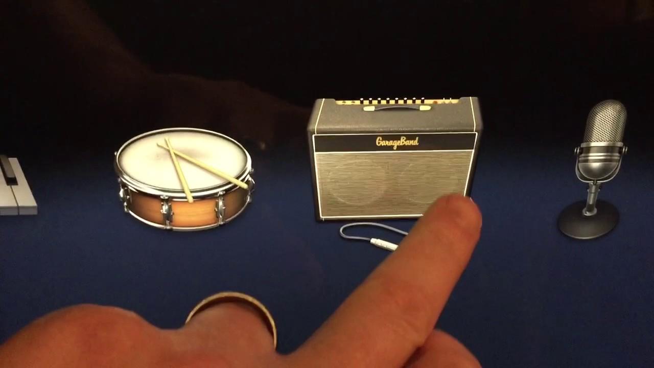 Importing Audio Track Into GarageBand on iPad - iOS version