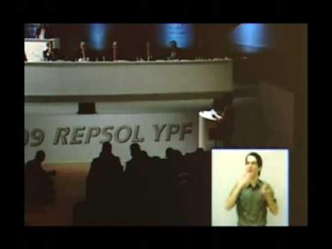 Intermón Oxfam - Junta de Accionistas de Repsol YPF