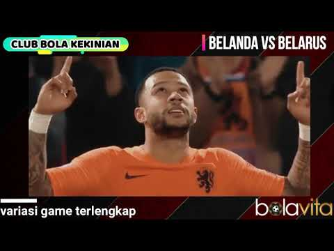 Highlight Pertandingan Belanda vs Belarus  4-0 Full Gol Kualifikasi Piala Eropa 2019
