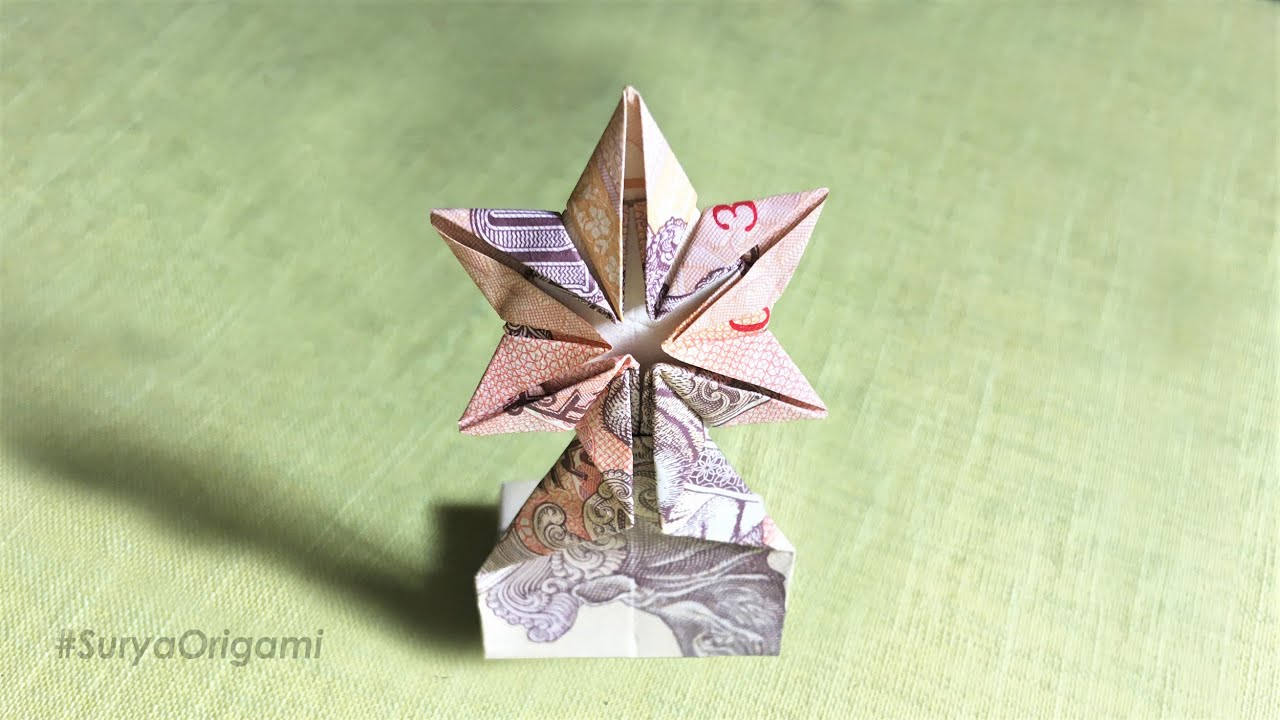 How To Make 10 Rupees Reward Origami | #SuryaOrigami