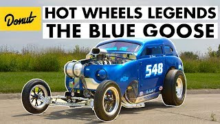 Chopped and dropped 1947 Crosley dragster wins at Hot Wheels Legends Tour Detroit | Donut Media
