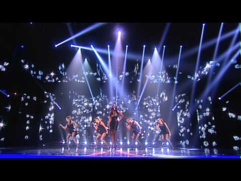 "Jamelia Live Show 5 Performance ""Thank You/Superstar"" Mash up"