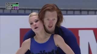 Фигурное катание Чемпионат Европы 2020 Спортивные пары Короткая программа Тарасова и Морозов