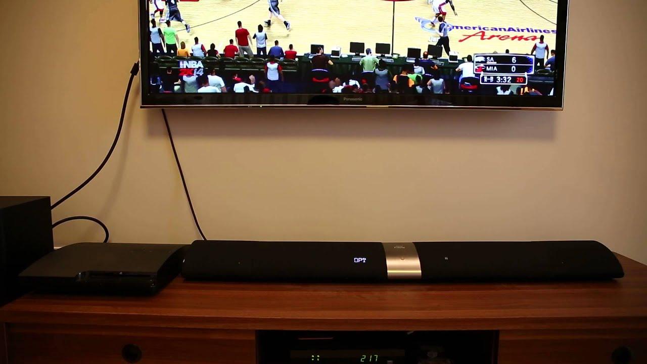 【Mobile01】Philips Fidelio B5 Soundbar Speaker 三種音效模式 - YouTube