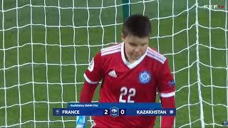 Франция Казахстан 12 0 Женский футбол