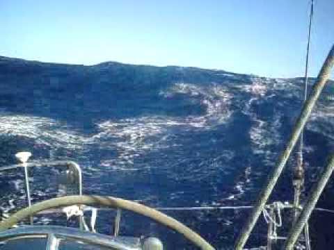 Segelyacht im sturm  Segelyacht Nel Maria - Atlantik-Überquerung - ARC 2009 - YouTube