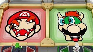 Super Mario Party - All 2 vs. 2 and 1 vs. 3 Minigames