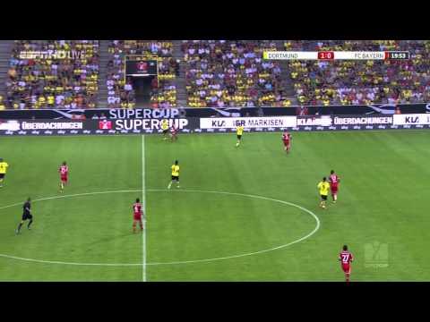 Borussia Dortmund vs Bayern Munich (4-2) 1st Half