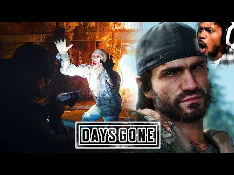 CLICK HERE FOR ZOMBIES, JUMPSCARES, BIKER GANGS   Days Gone Gameplay
