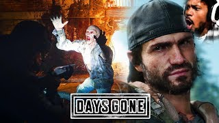 CLICK HERE FOR ZOMBIES, JUMPSCARES, BIKER GANGS | Days Gone Gameplay