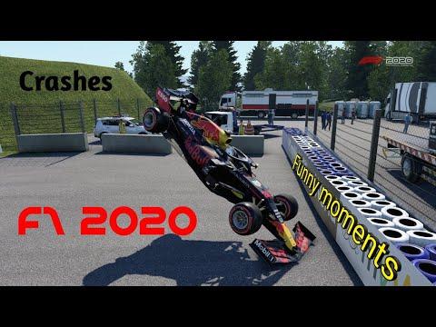 F1 2020 crashes and funny moments #1 /w Rajmi006 |