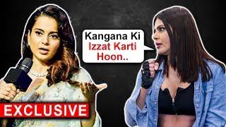 Sherlyn Chopra EPIC REACTION On Kangana Ranaut Slamming Bollywood Stars   EXCLUSIVE