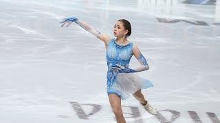 Kamila Valieva Russian Nationals 2021 SP Камила Валиева ЧР 2021 КП 25 12 2020