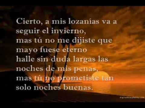 En Paz De Amado Nervo Poeta Mexicano Youtube