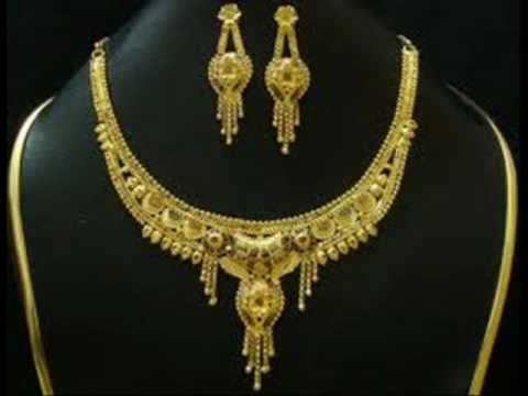most beautiful gold necklace designs by youtube