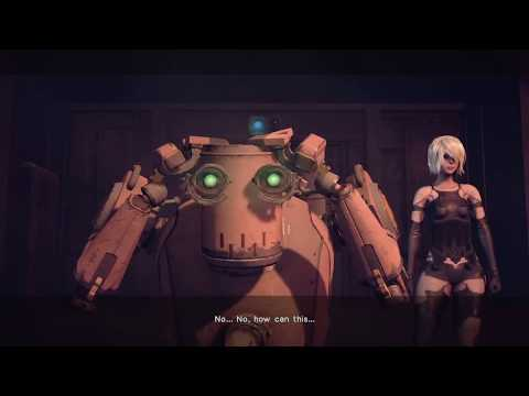 Don't kill and leave Pascal alone in the factory | NieR:Automata