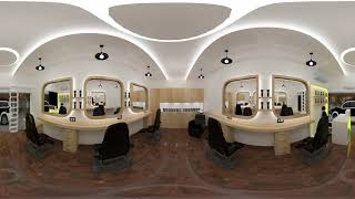 Men's Salon Design 360 video