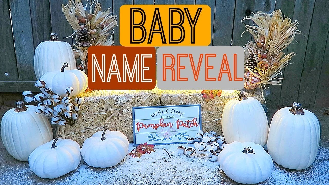BABY NAME REVEAL image
