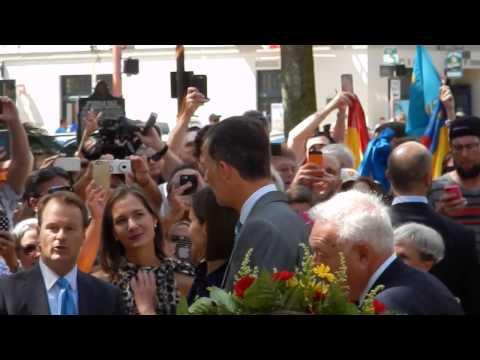 King Felipe VI and Queen Letizia visit St. Augustine, FL