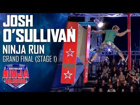 Josh O'Sullivan's Stage 1 run gets him closer to his 'destiny' | Australian Ninja Warrior 2019
