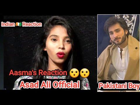 Reaction On Asad Ali Official New Tiktok Videos || Pakistani Tiktoker || By Aasma Shaikh