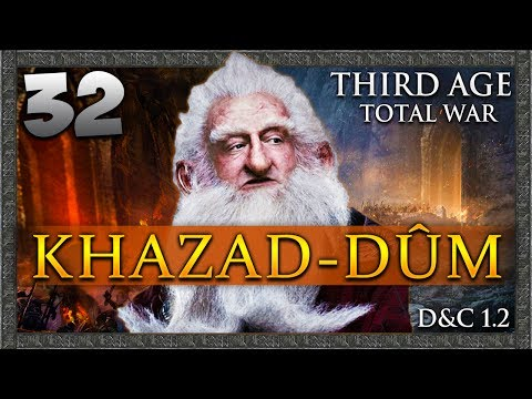 FINDING THE ONE RING! Third Age Total War: Divide & Conquer - Khazad-dûm Campaign #32