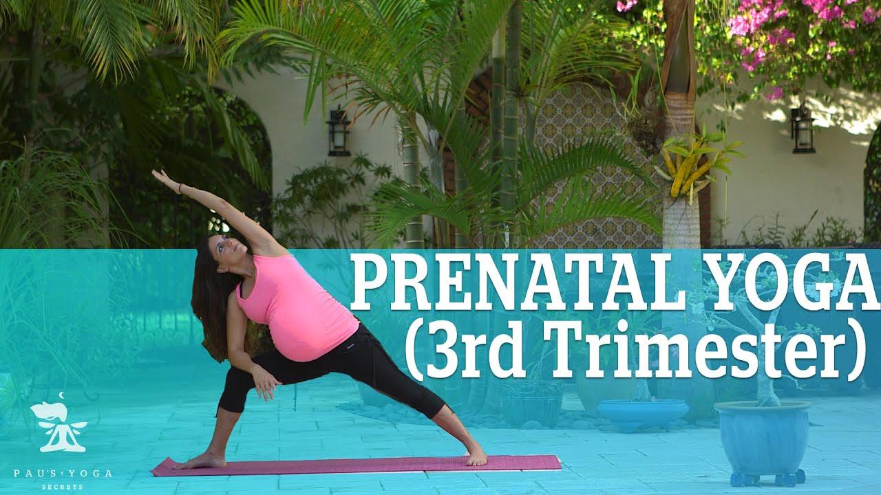 Prenatal Yoga 3rd Trimester Goddess Flow Youtube