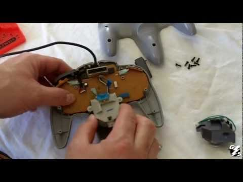 How To Replace Your Analog Joystick On Your Nintendo 64 Controller