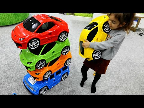 Learn Colors with Magic Power Wheels Cars #emilytube