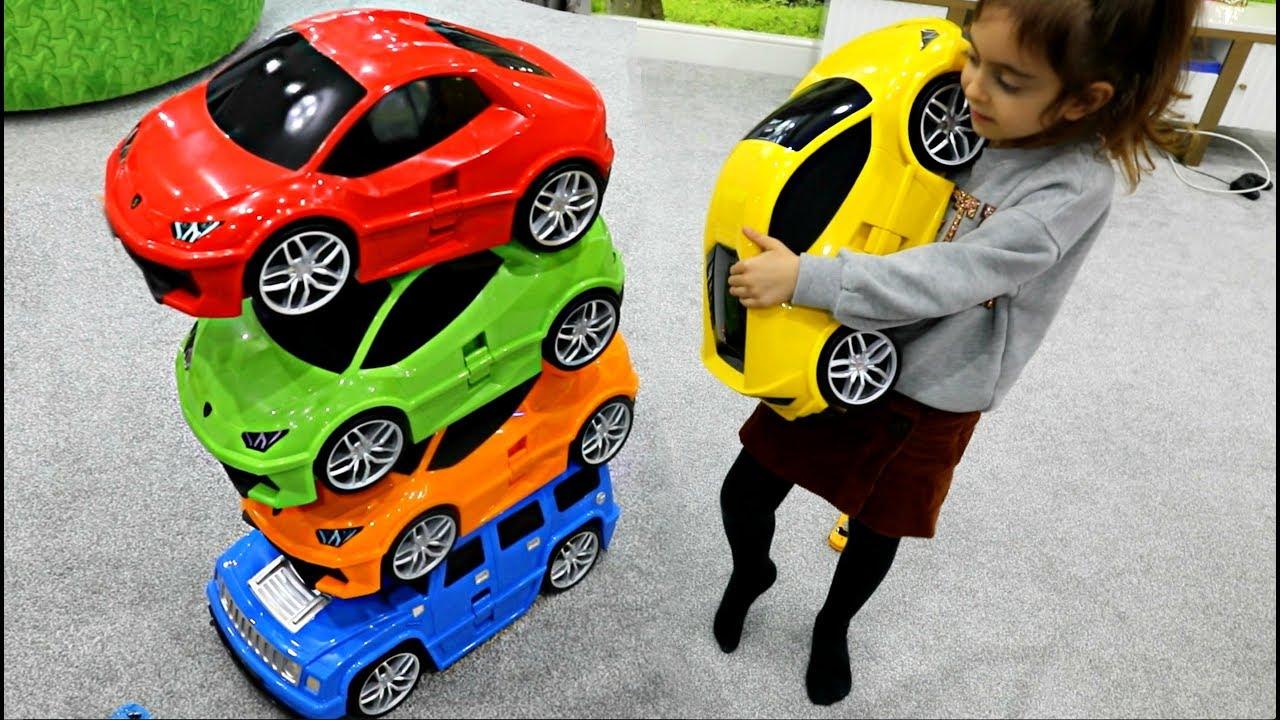 Magic Power Wheels Cars #emilytube