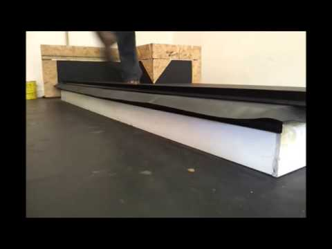 Fitting A Flat Roof Gutter Edge Drip Plate Youtube