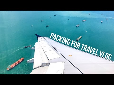 PACKING FOR TRAVEL VLOG - SINGAPORE