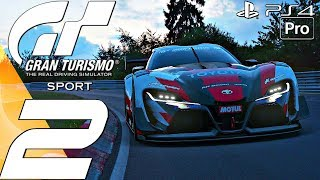 Gran Turismo Sport - Online Gameplay Session Part 2 - First Wins & Broken Servers (PS4 PRO)