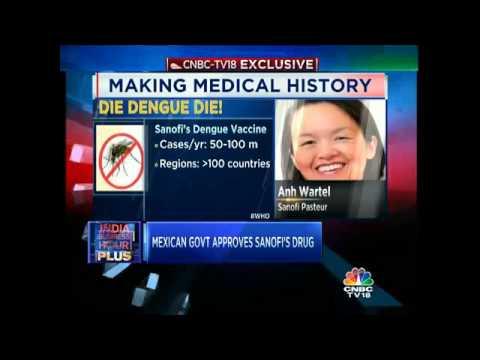 Mexican Govt Approves Sanofi's Dengue Vaccine Drug