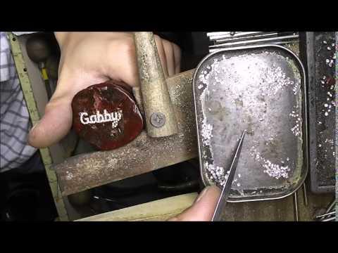 Jewelry making diamond setting