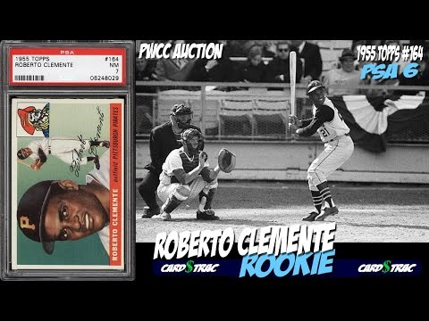 1955 Roberto Clemente Rookie Card Topps 164 Card For Sale